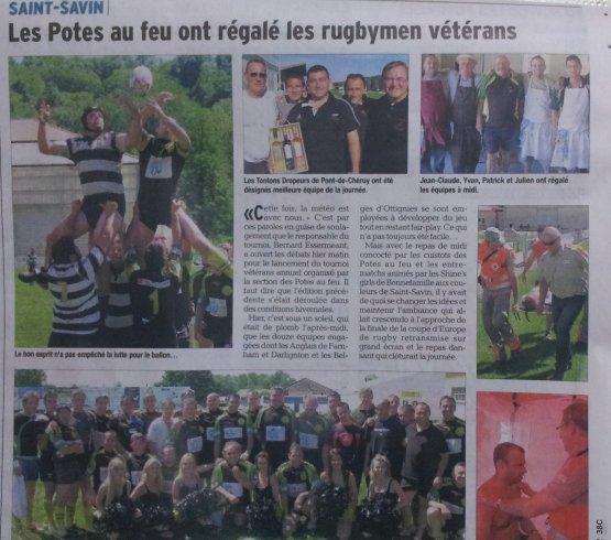 Paru dans le Dauphiné Libéré au 25/05/2012